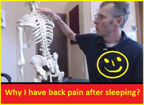 Why I have back pain after sleeping?