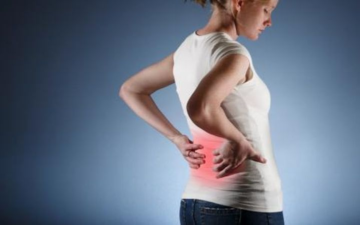 Long acute lower back pain in women and men