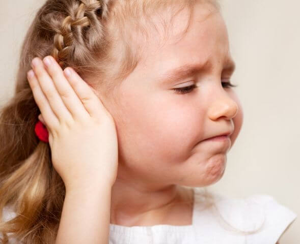 Deep ear pain in children: first aid