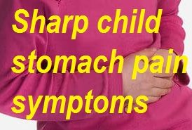 stomach pain symptoms