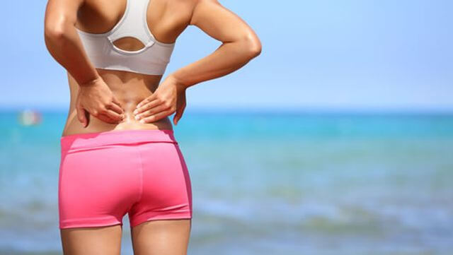 Strong acute lower back pain: how is it treated?
