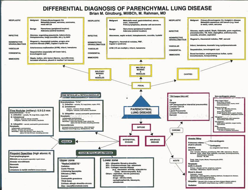 Interstitial Lung Disease Diagnosis: An Overview