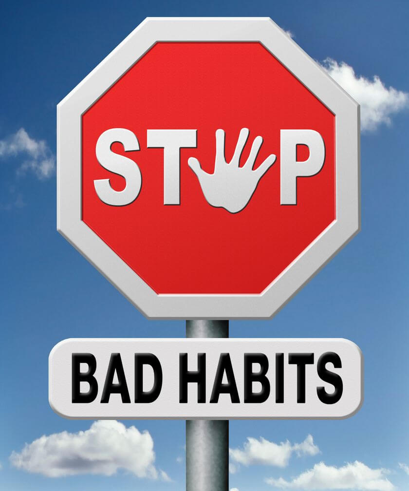 Bad habits: own and their others