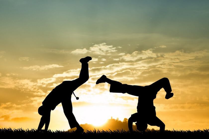 Capoeira: Dance until the young!