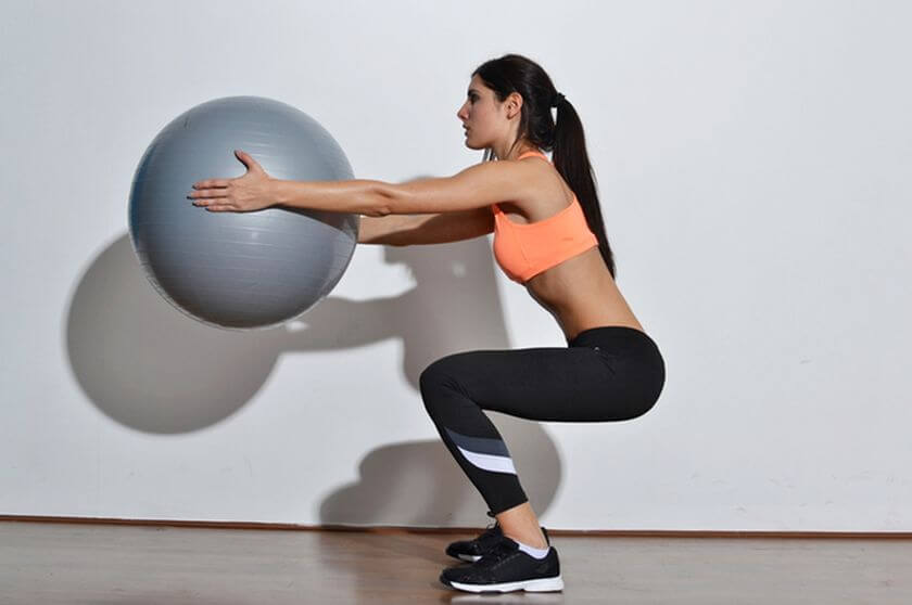 Top 10 exercises for shapely legs and elastic ass