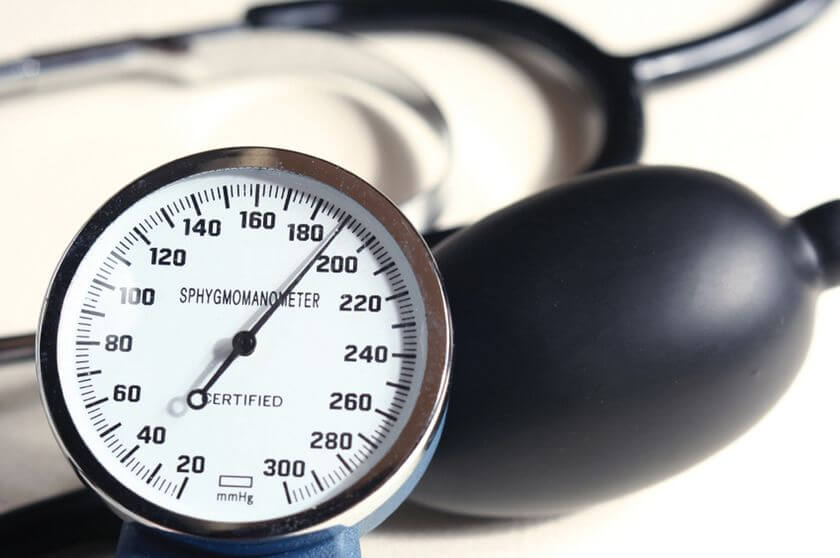 What can cause high blood pressure?