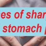 Causes of sharp child stomach pain