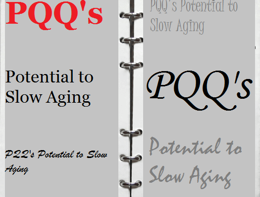 PQQ's Potential to Slow Aging